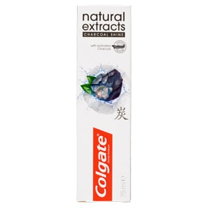 Colgate Tandpasta Natural Extract Charcoal Shine